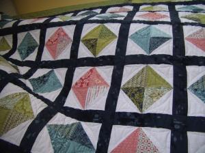 What a fun half-square triangle pattern!