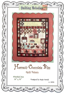 A chocolate quilt--what could be more yummy?