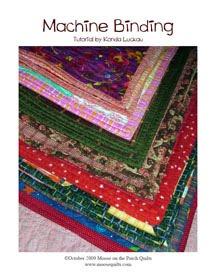 machine binding a quilt tutorial