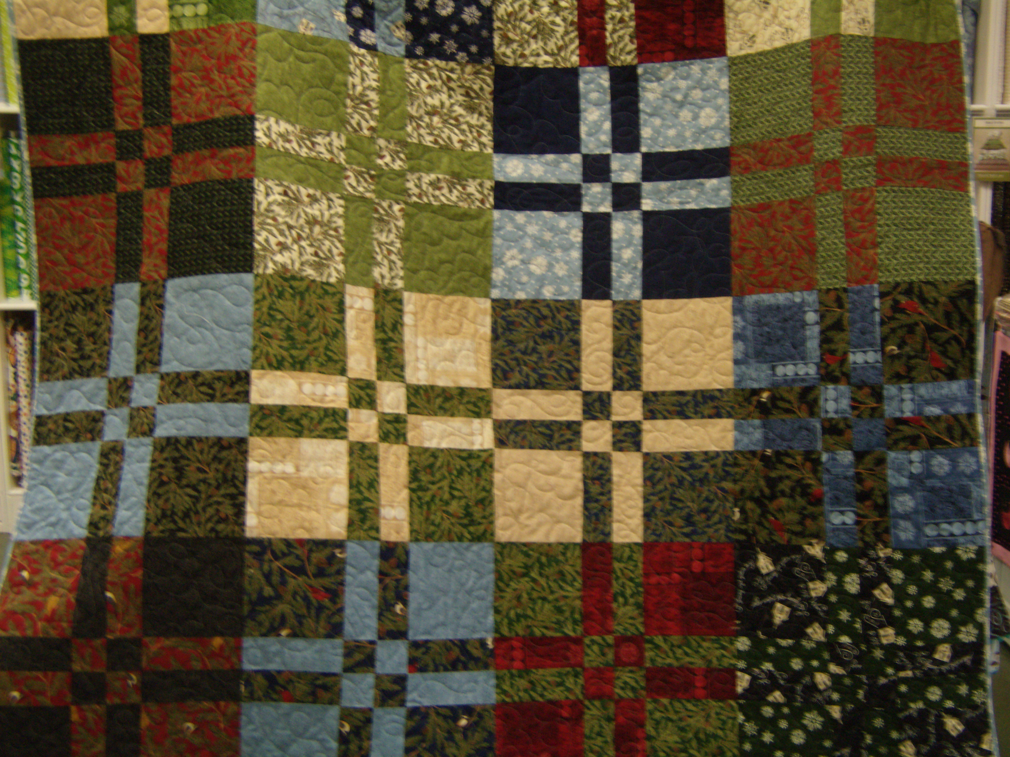 Disappearing Four Patch Quilt | MY HERITAGE FABRICS : disappearing patch quilt - Adamdwight.com