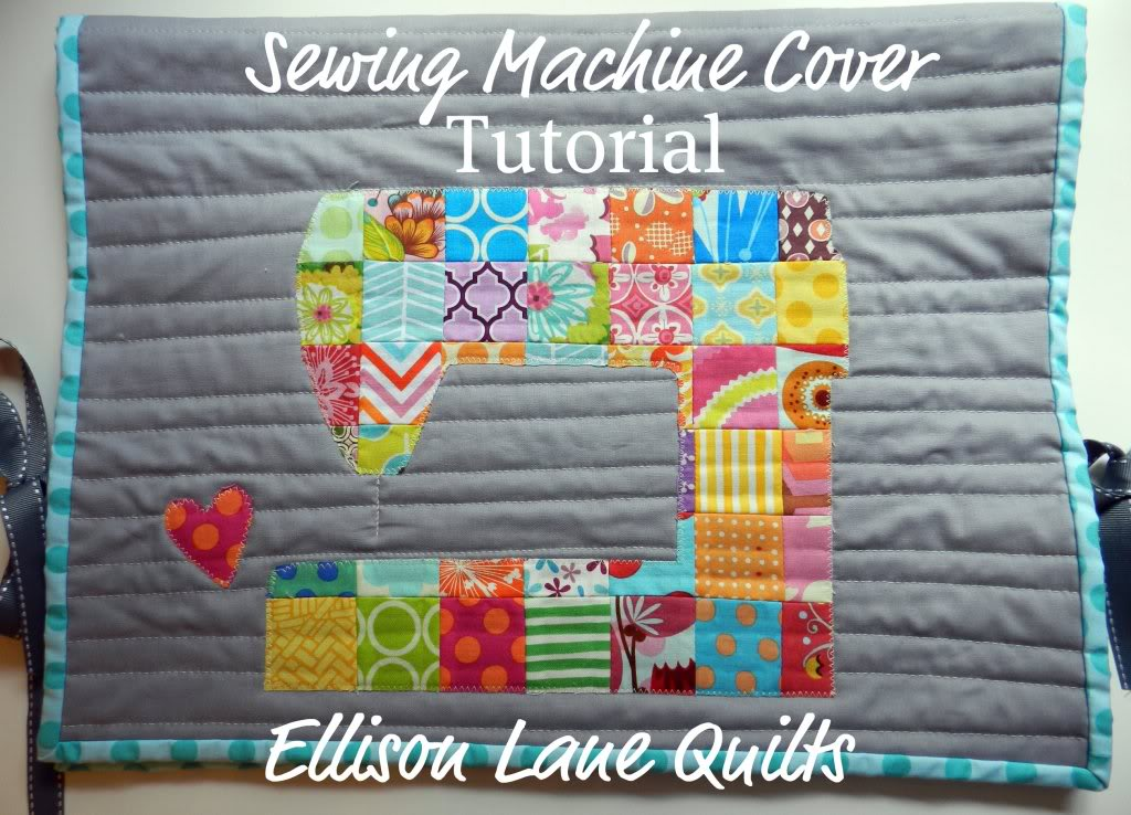 Patch Work Sewing Machine Cover Tutorial | MY HERITAGE FABRICS